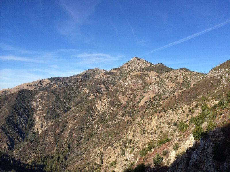 Ventana Wilderness: Cone Peak via Vicente Flat