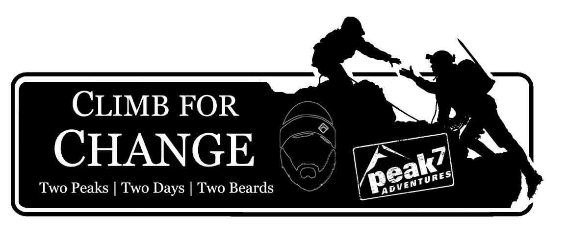 Climb for Change: 2 Peaks, 2 Beards, 2 Days