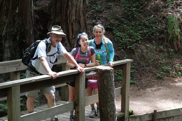 Purisima Creek Redwoods #HellHikeAndRaft Tweetup