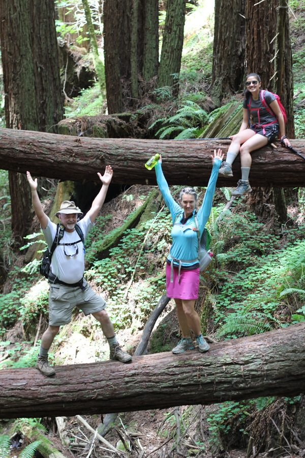 Purisima Creek Redwoods #HellHikeAndRaft Tweetup