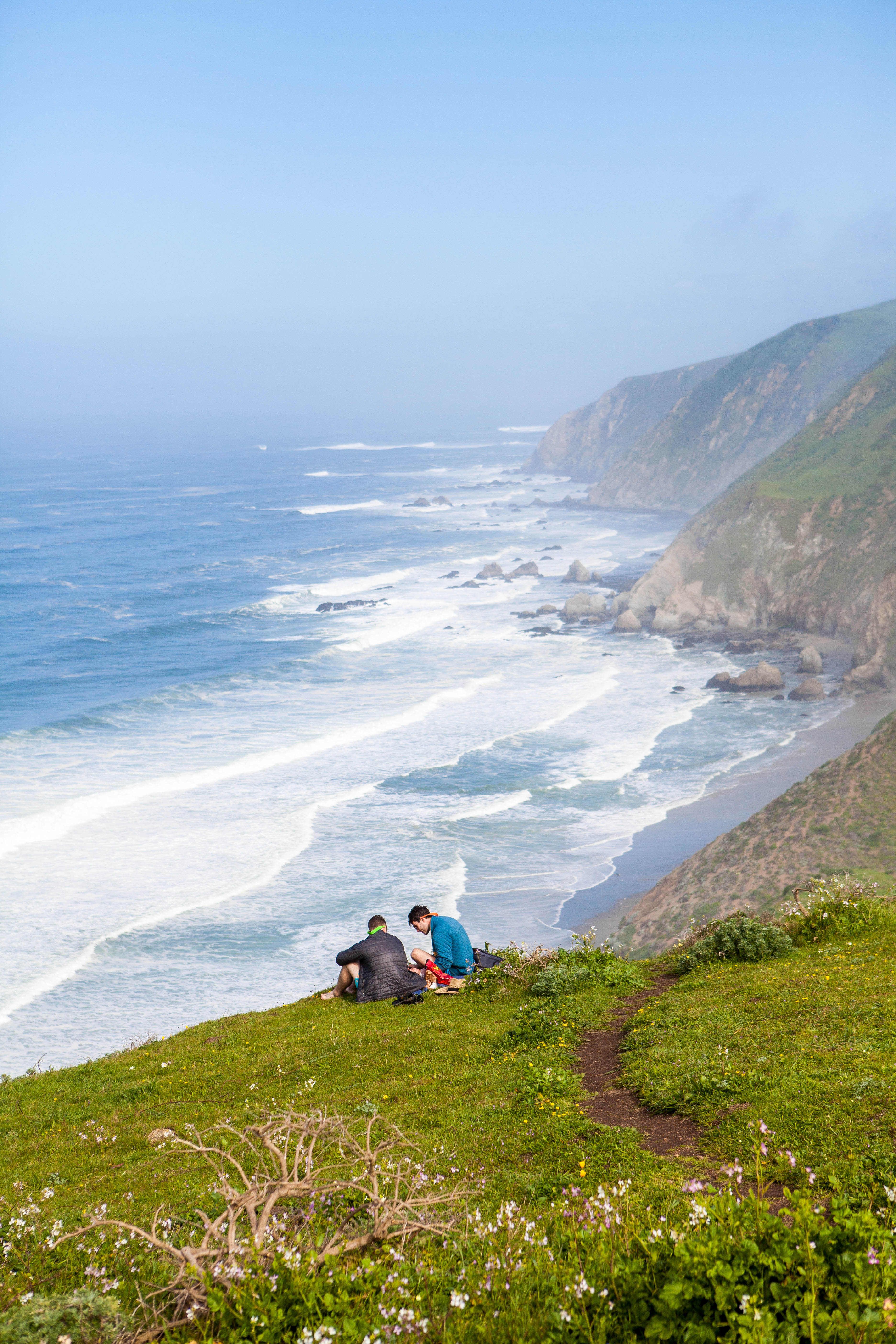 Hiking Tomales Point, Point Reyes National Seashore