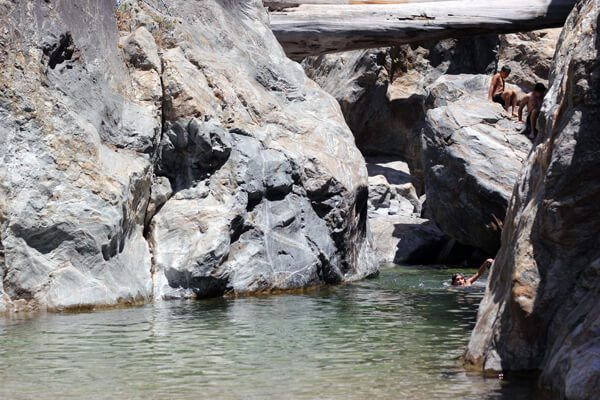 Pfeiffer Big Sur State Park: Big Sur River Gorge July 2014