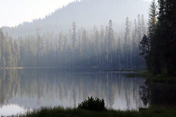 Lassen Volcanic National Park Clusters Lake Loop Cinder Cone