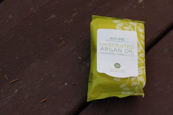 Acure Organics Argan Oil Cleansing Towelettes