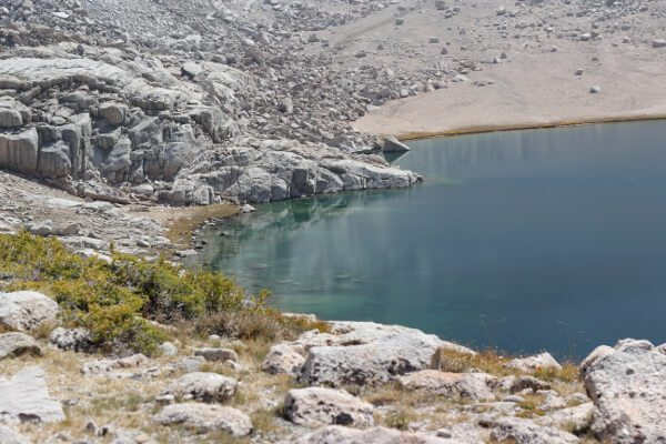 Inyo National Forest: Meysan Lake September 2014