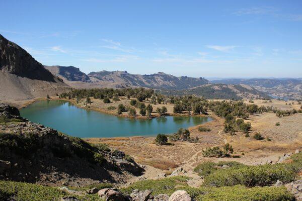 Mokelumne Wilderness: Roundtop Peak