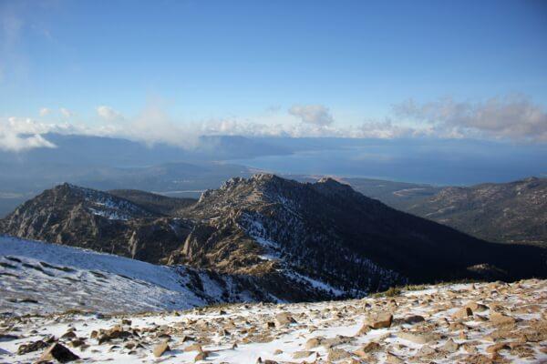 Lake Tahoe Basin: Freel Peak via Trout Creek