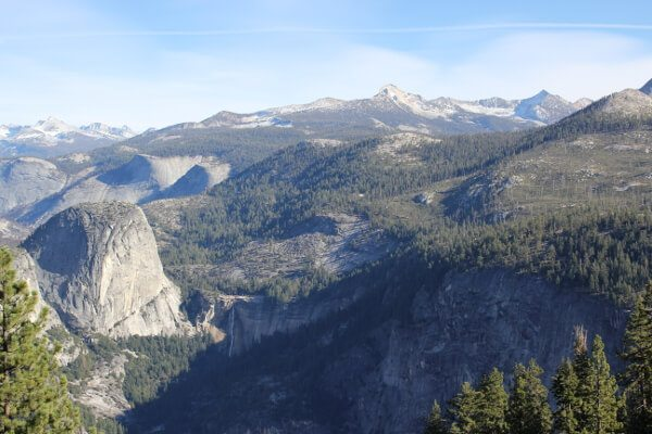 Yosemite National Park: Glacier Point via Four Mile Trail