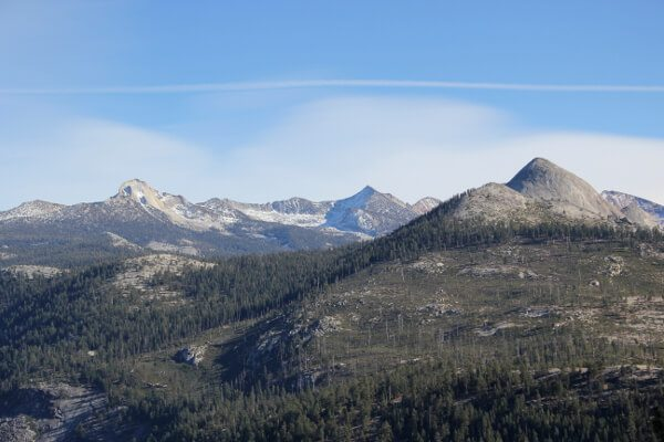 Yosemite National Park Glacier Point Via Four Mile Trail