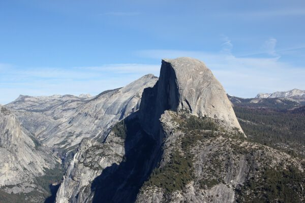 Hiking Glacier Point via Four Mile Trail, Yosemite National Park