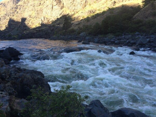 #HellHikeAndRaft Day 4: Rapids on the Snake