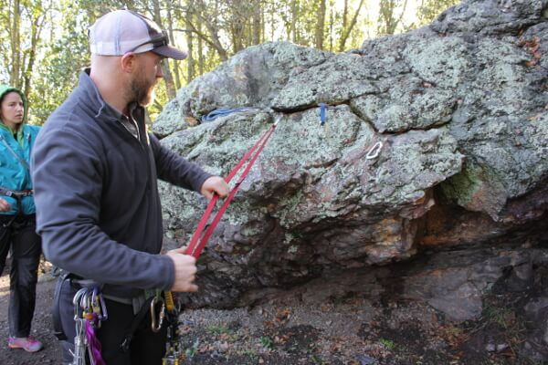Rock Climbing Anchors and Self-Rescue with SAANO Adventures