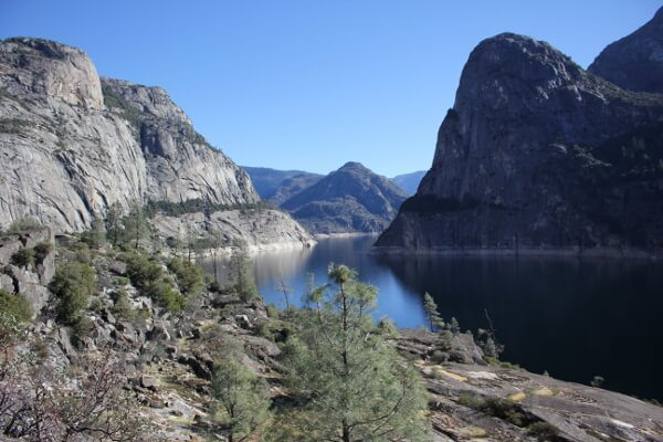 Yosemite Hetch Hetchy Reservoir Drought