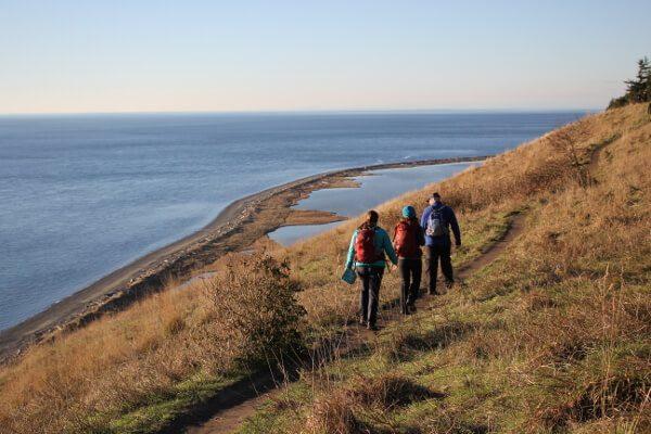 Ebey's Landing: Prairie Overlook to Beach