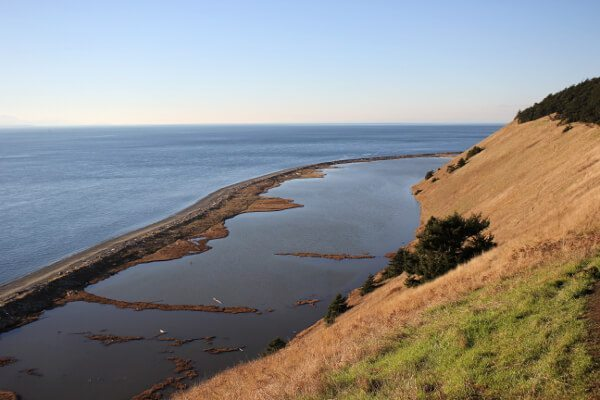 Ebey's Landing: Prairie Overlook to Beach