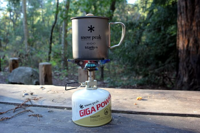 4 Ways to Caffeinate While Camping Snowpeak Gigalite Stove