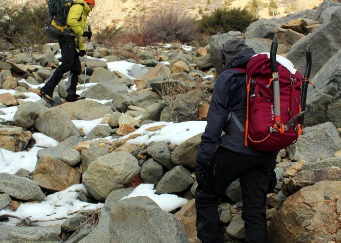 #findingwinter Mountain Hardwear Scrambler 30 Pack Gear Review