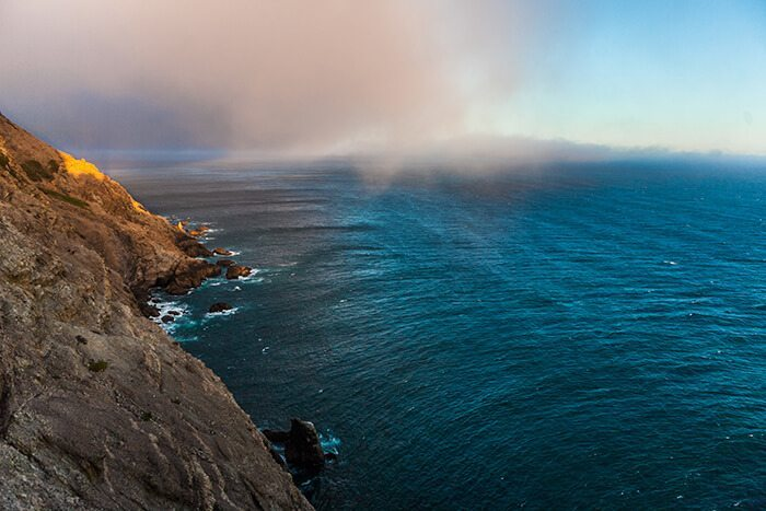 Point Reyes National Seashore Lighthouse at Sunset