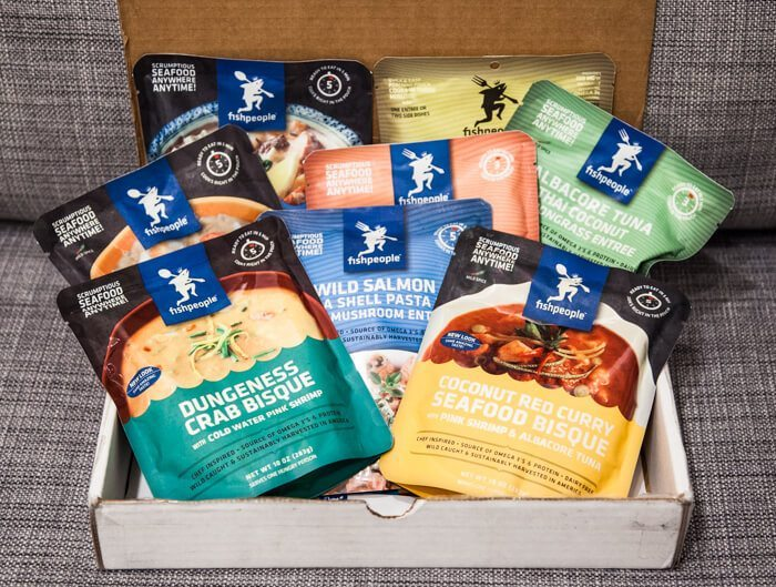 FIshpeople Seafood Pouch Review Giveaway