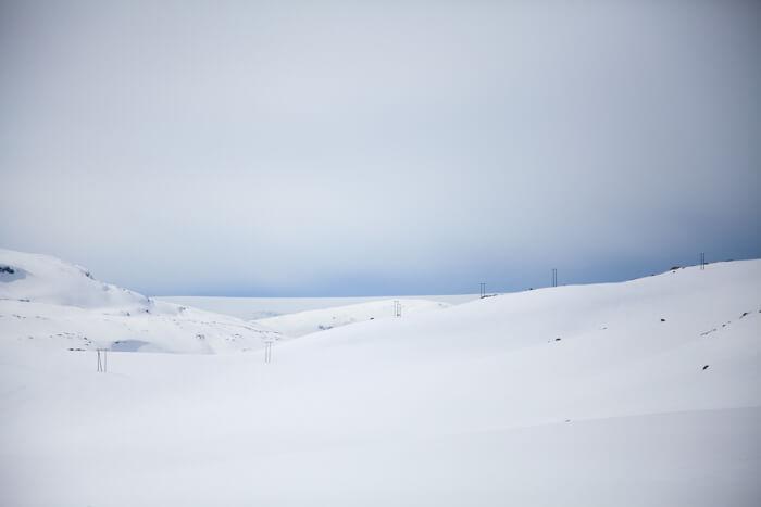 Snowshoeing Trolltunga