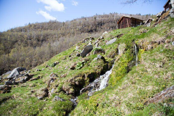 Jotunheimen Avdalen Gard Avdalfossen Hiking