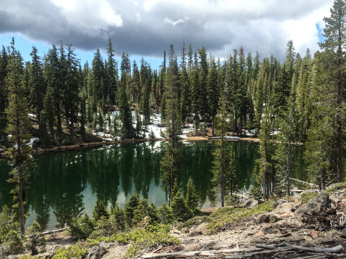 Three Day Backpacking Lassen Clusters Lake Loop