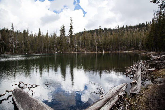 Backpacking Lassen Day One Summit Lake To Snag Lake
