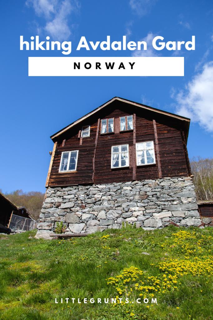 Hiking Avdalen Gard Avdalfossen
