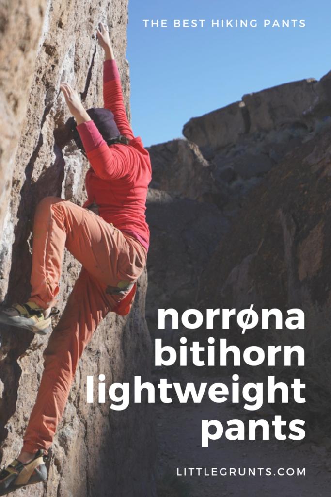 Norrona bitihorn lightweight pants review
