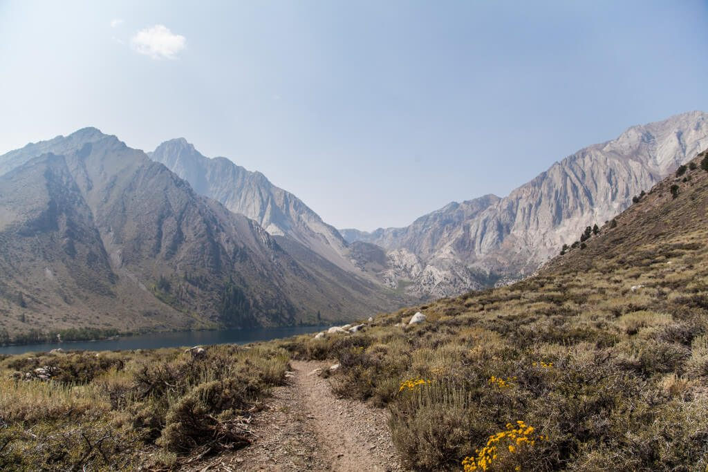 Backpacking Mildred Lake, Convict Canyon