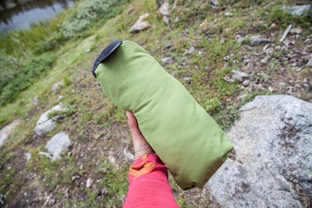 Feathered Friends Geoduck Pillow Review