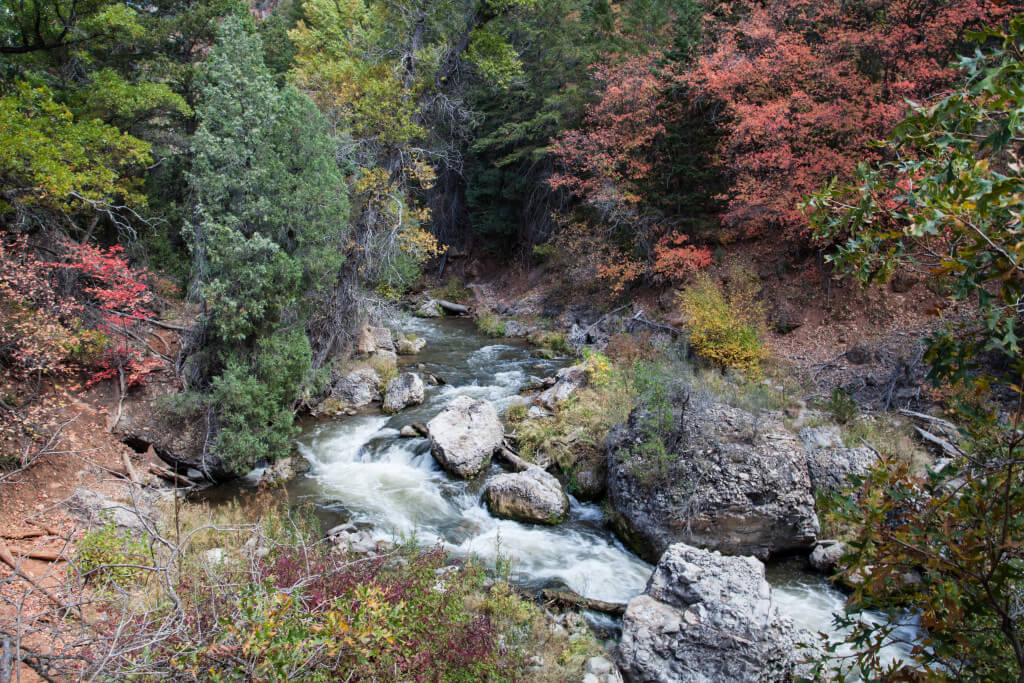 Diamond Fork Canyon Fifth Water Hot Springs