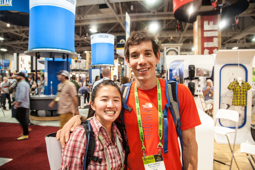 Alex Honnold Outdoor Retailer