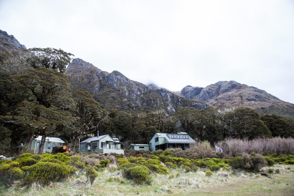 Backpacking and Camping on the Routeburn Track, New Zealand