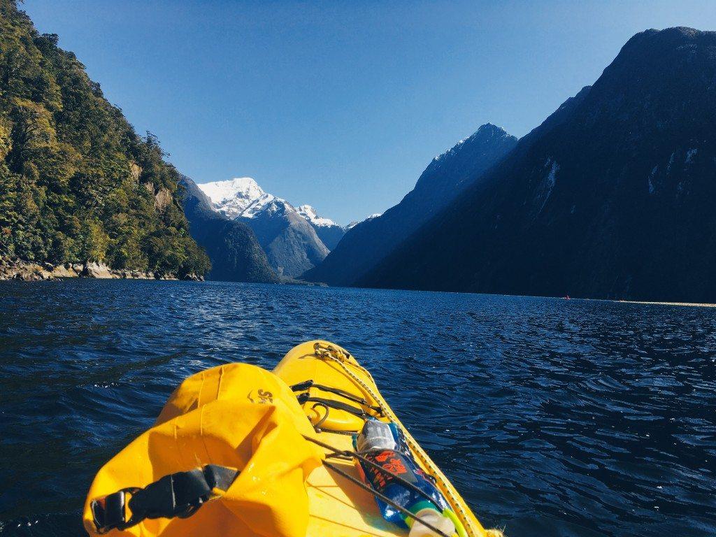 Kayaking Milford Sound Rosco's Milford Kayaks