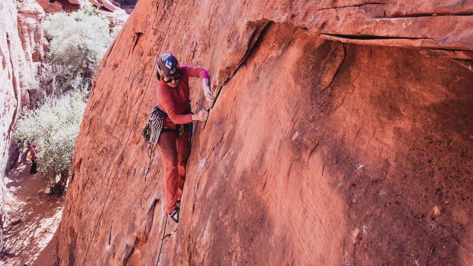 Climbing at Red Rock
