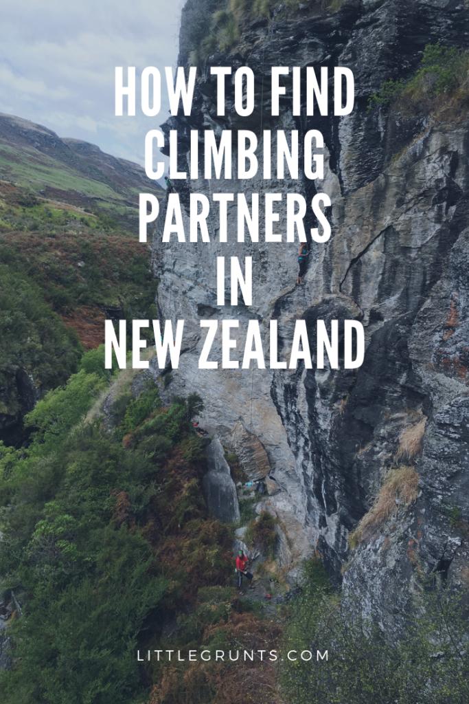 Climbing New Zealand Climbing Partners New Zealand How to find climbing partners in New Zealand