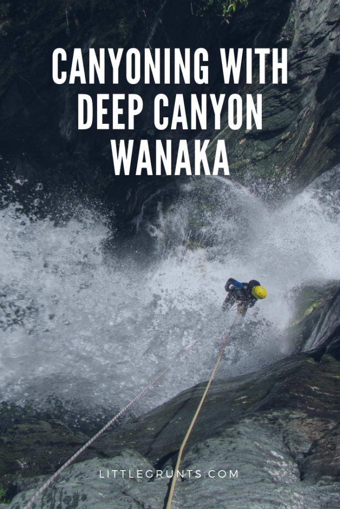 Canyoning with Deep Canyon Wanaka