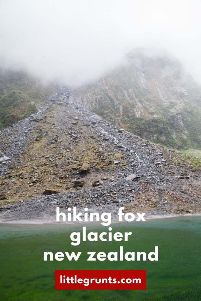 Hiking Fox Glacier New Zealand