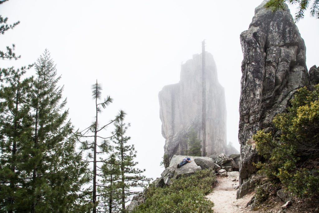 Hiking Castle Crags State Park