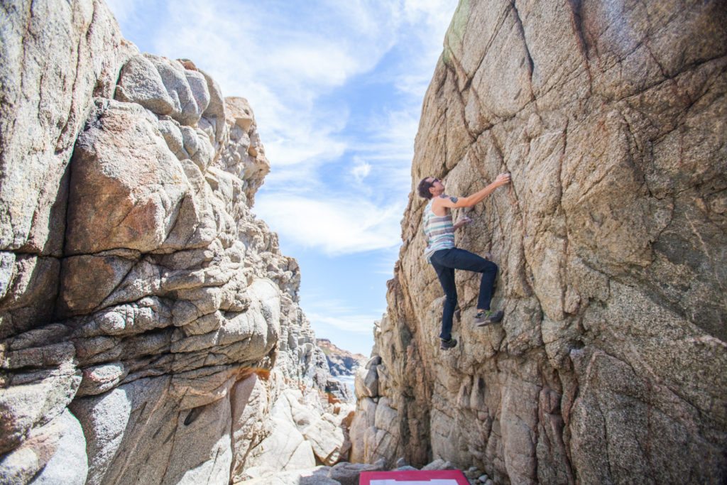 Granite Creek bouldering