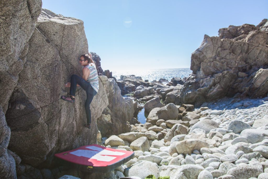 Granite Creek bouldering