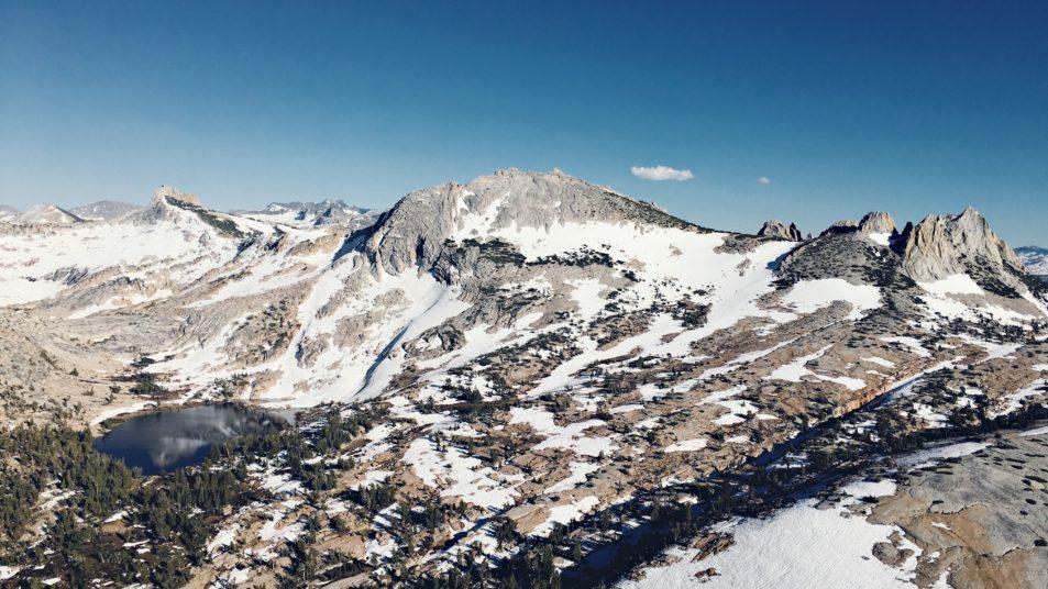 Climbing Cathedral Peak June 2016