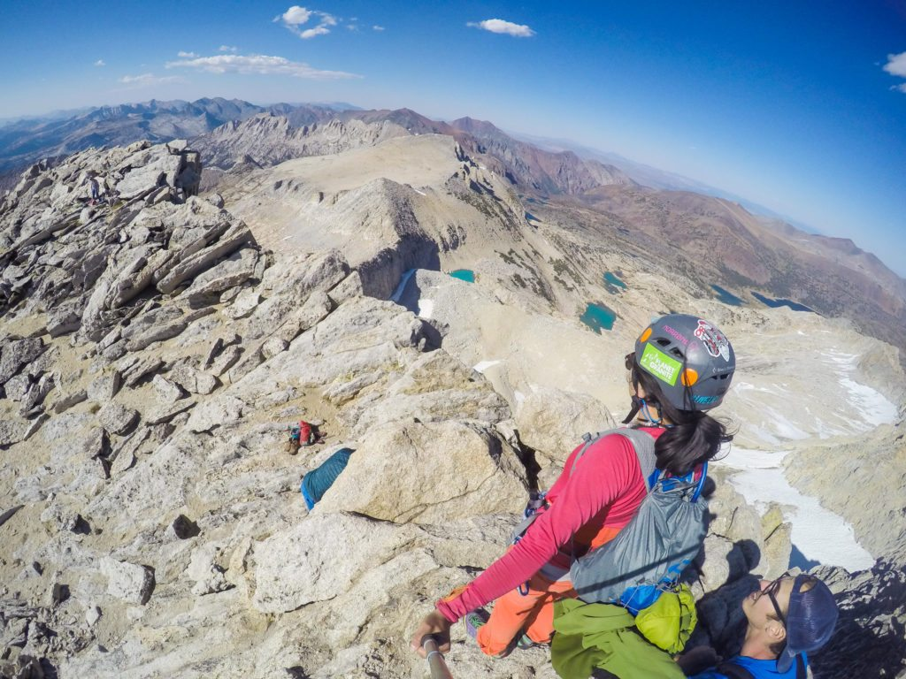 Soloing North Peak and Mt. Conness