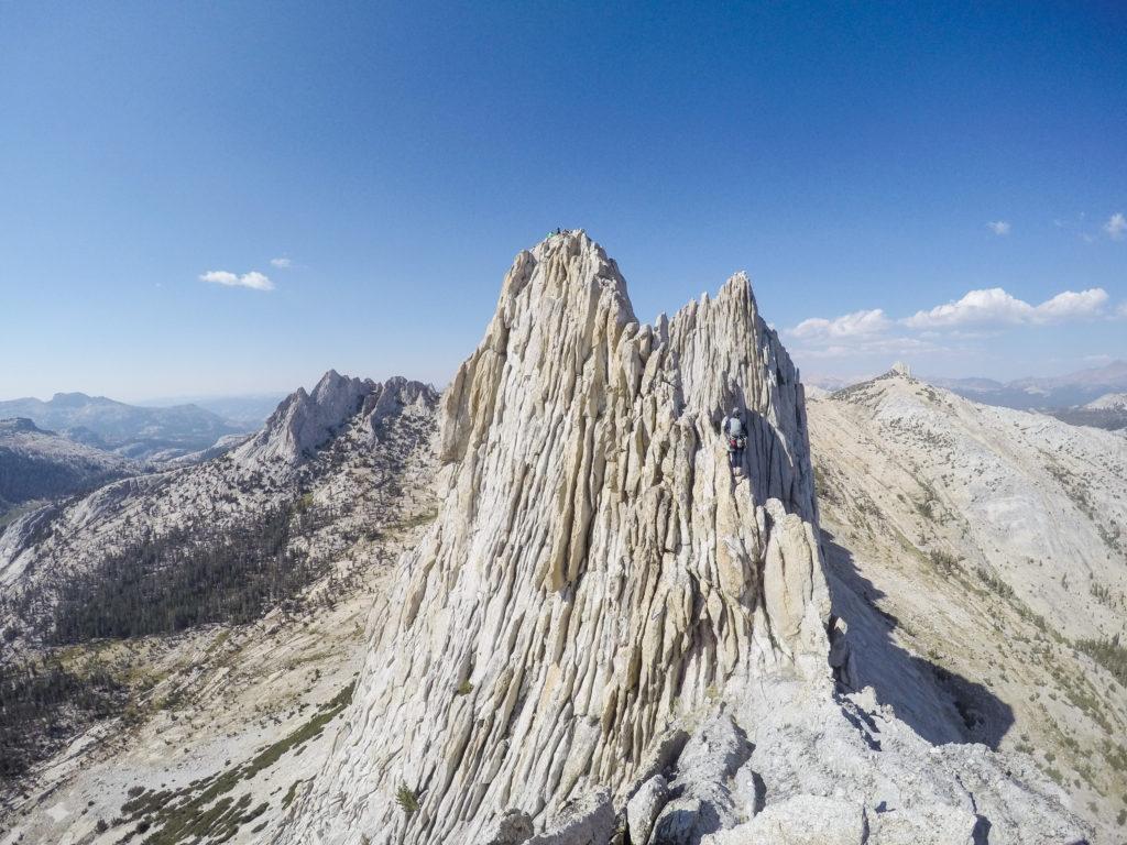 Climbing Matthes Crest