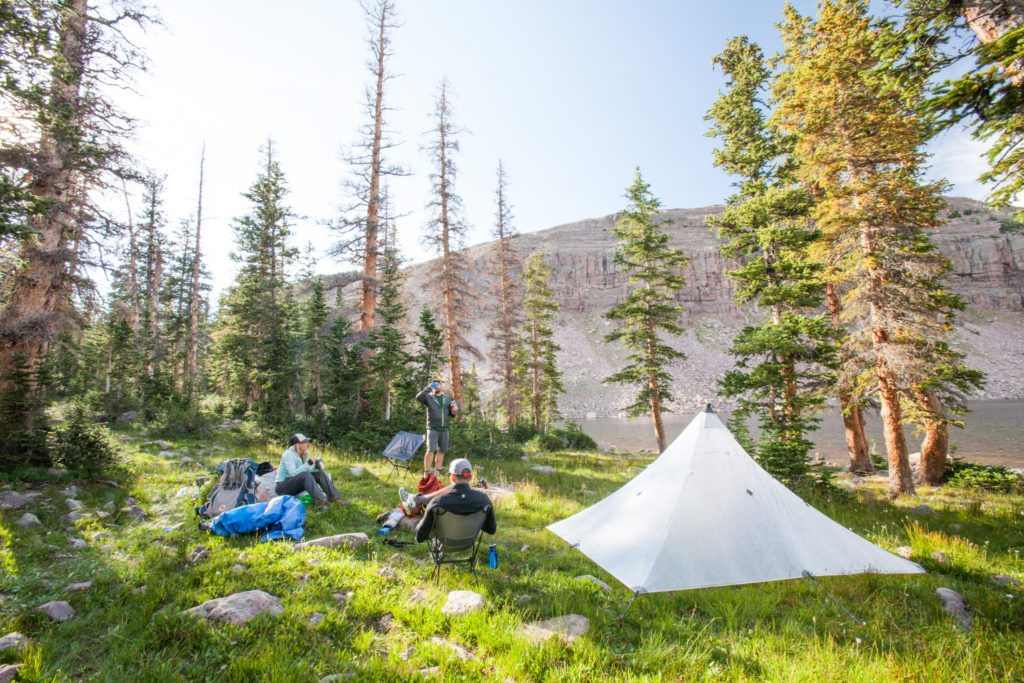 Backpacking the Uintas Highline Trail, Four Lakes Basin