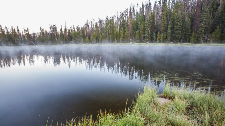 Backpacking the Uintas, Wilder Lake to Highline Trailhead