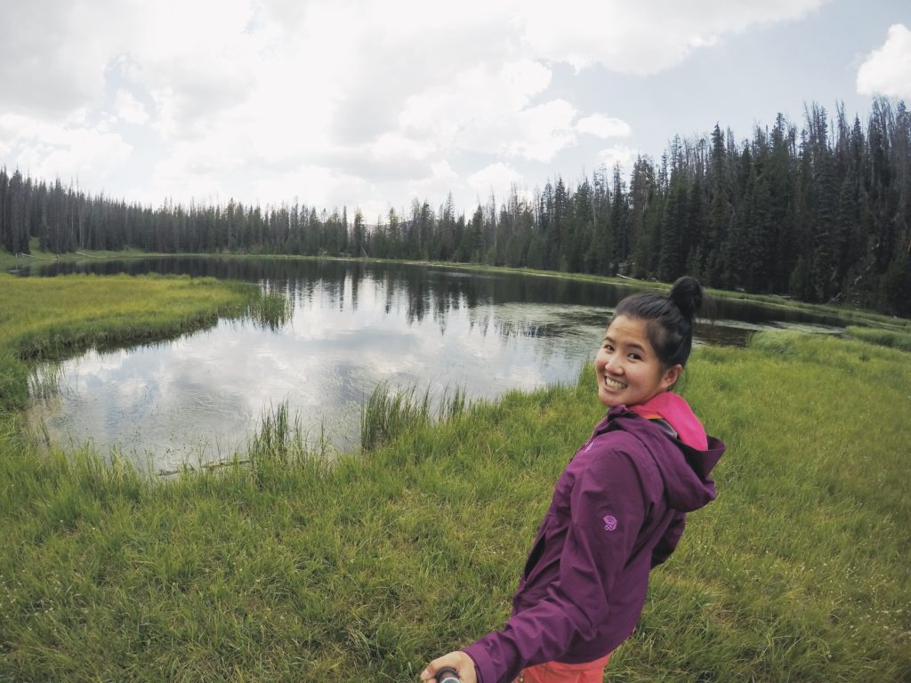 Backpacking the Uintas Highline Trail, Wilder Lake