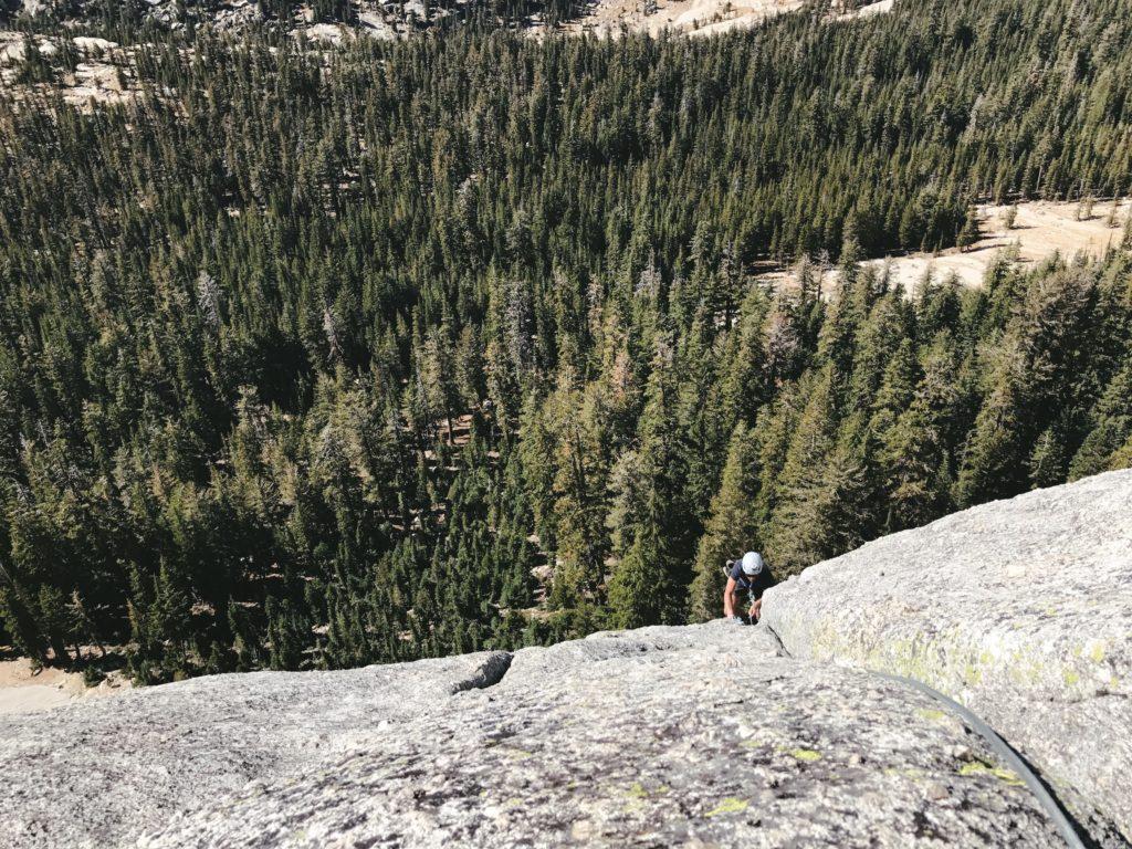 Tuolumne Meadows Dozier Dome Climbing