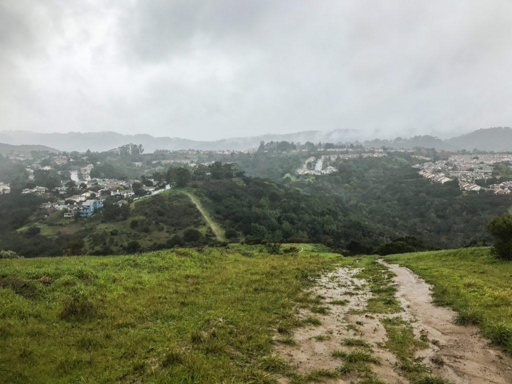 Hiking Sugarloaf Mountain, San Mateo, CA